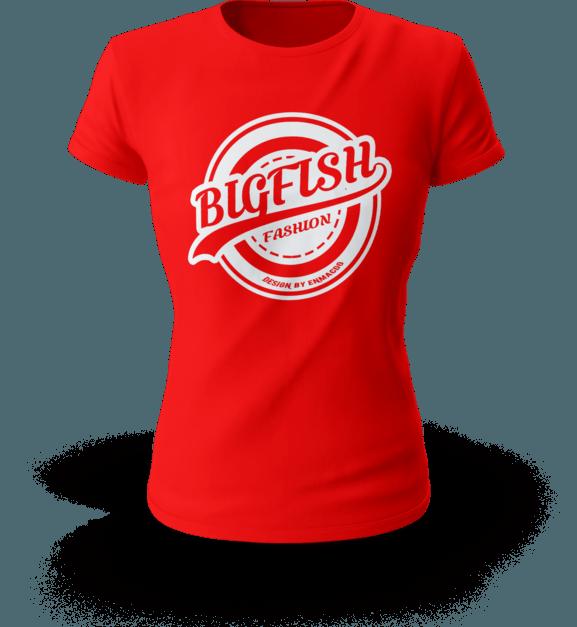 enmacdo red t-shirt