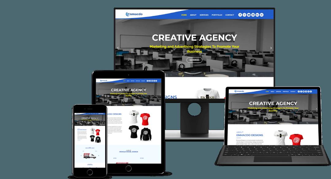 wordpress web responsive